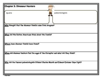 Dinosaurs Fact Tracker - MTH Non-Fiction Common Core Study