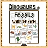 Dinosaurs Fossils Write the Room