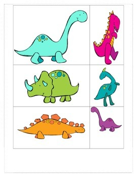 Dinosaurs Galore: Measure & Record