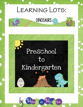 Dinosaurs Games and Activities for Preschool & Kindergarten