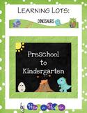 Dinosaurs Games and Activities for Preschool & Kindergarten