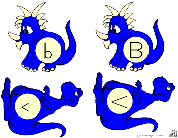 Dinosaurs Go Home: Uppercase and Lowercase Letters, Colors