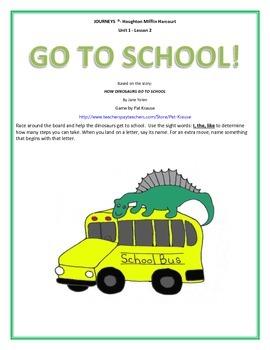 Beginning Sounds - Dinosaurs Go To School