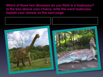 "Dinosaurs: Hadrosaurs - ""The Duck-billed Dinosaurs"" PowerPoint"