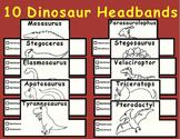 Dinosaur Headbands