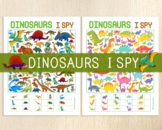 Dinosaurs I Spy Games, Counting Games, Look and Find, Game