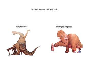 How Do Dinosaurs Go To School: PowerPoint Activity