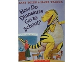 How Do Dinosaurs Go To School: PowerPoint Activity