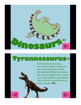 Dinosaurs Informational Powerpoint (Advanced)