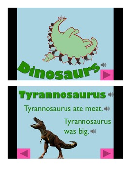 Dinosaurs Informational Powerpoint (Basic)