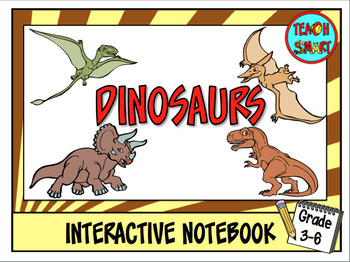 Dinosaurs Interactive Notebook