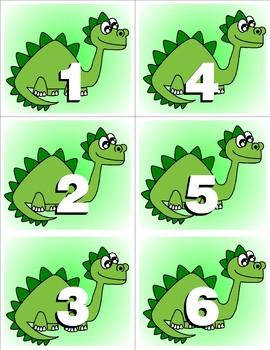 Dinosaurs  Kit One  - Themed Learning Center Activity Kit
