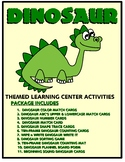Dinosaurs  Kit One  - Themed Learning Center Activity Kit