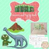 Dinosaurs Distance Learning Activities and Coloring Dioram