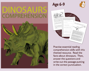 Dinosaurs: Let's Practise Our Reading Comprehension (6-9 years)