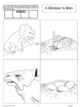Dinosaurs: Life Cycle and Language Activities