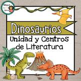 Centros de Literatura de Dinosaurios //Dinosaurs Literacy