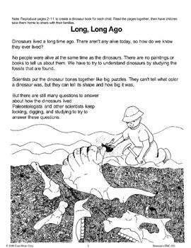 Dinosaurs Long, Long Ago