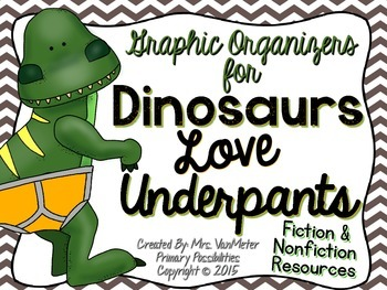 Dinosaurs love underpants teaching resources teachers pay teachers dinosaurs love underpants literacy resources dinosaurs love underpants literacy resources fandeluxe Image collections