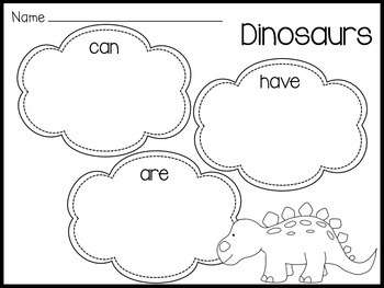 Dinosaurs Love Underpants (Literacy Resources)