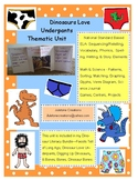 Distance Learning Dinosaurs Love Underpants Thematic Unit