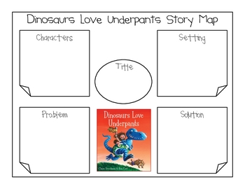 "Dinosaurs Love Underpants ""Underpants Writing Activity"""