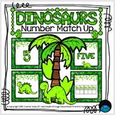Dinosaurs Number Match Up