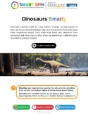 Dinosaurs + Paleontology (thematic unit)