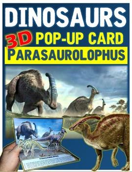 Dinosaurs: Parasaurolophus Pop-Up Card