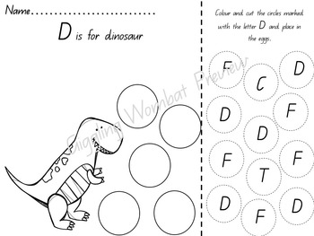 Dinosaurs Math and Literacy Activities