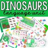 Dinosaurs Preschool Language Unit