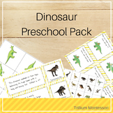 Dinosaurs Preschool Pack