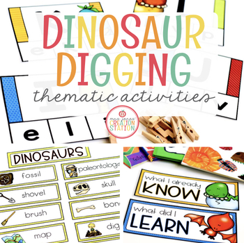 Dinosaurs: Preschool, Pre-K and Kindergarten Resources