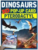 Dinosaurs: Pterodactyl Pop-Up Card