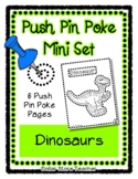 Dinosaurs - Push Pin Poke No Prep Printables - 6 Pictures