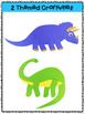 Dinosaurs: Reading Comprehension, Writing and Craftivities