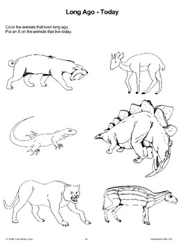 Dinosaurs/Real or Make-Believe/Long Ago-Today