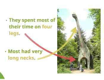 """Dinosaurs: Sauropods - """"The Pre-historic Giants"""" (Prezi)"""