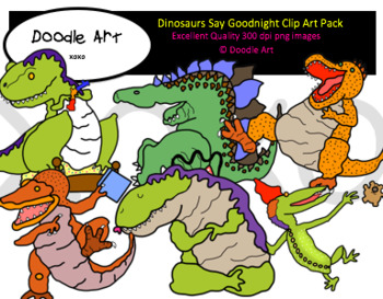 Dinosaurs Say Goodnight
