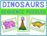Dinosaurs Sequence Puzzles