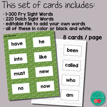 Dinosaurs Sight Words