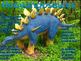 """Dinosaurs: Stegosaurs - """"The Plated Dinosaurs"""" PowerPoint"""