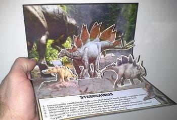 Dinosaurs: Stegosaurus Pop-Up Card