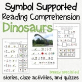 Dinosaurs - Symbol Supported Picture Reading Comprehension