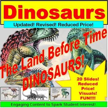 Dinosaurs, Teaching Lesson PPT