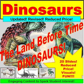 Dinosaurs, Teaching Lesson PowerPoint