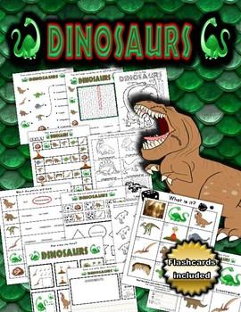 Dinosaurs Themed Activity Set