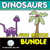 Fine Motor Bundle of Dinosaur Activities