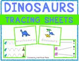 Dinosaurs Tracing Sheets