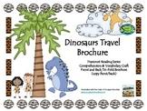 Dinosaurs Travel Brochure
